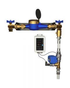Kontrollera vattenflödet med vattenmätare och vattenfelsbrytare - Säkra Larm
