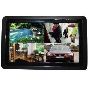 LCD-panel för styrning av övervakningskameran hemma | Säkra Larm