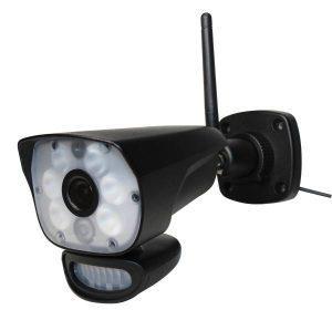 Utomhus övervakningskamera - LED-belysning | Säkra Larm