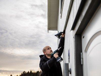 Investera i ett larm med kameraövervakning | Säkra Larm